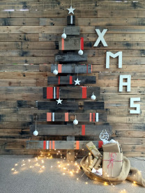 Pallet Christmas tree NZ