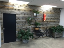 rutic feature wall supplied by industrial design NZ