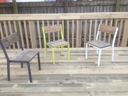 Steel Framed Chairs